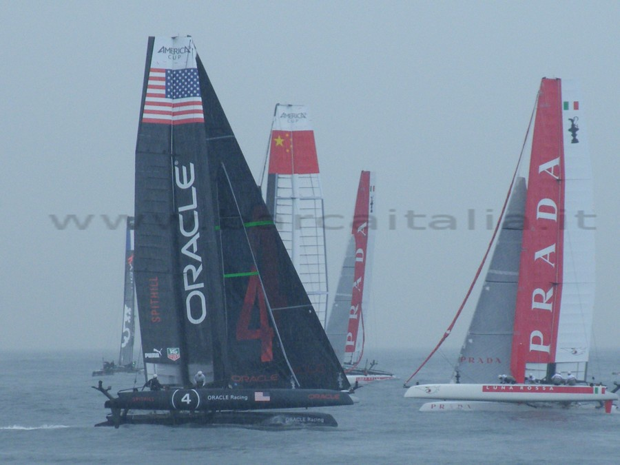 Oracle e Luna Rossa